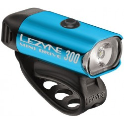 LEZYNE MINI DRIVE 300 LM BLUE/HI GLOSS