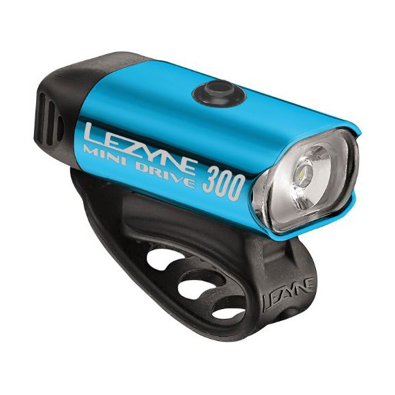 LEZYNE MINI DRIVE 300 LM BLUE/HI GLOSS