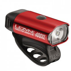 LEZYNE HECTO DRIVE 400XL RED/HI GLOSS