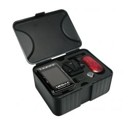 LEZYNE MEGA C GPS BLACK W/ SPD/CADENCE & HR SENSOR
